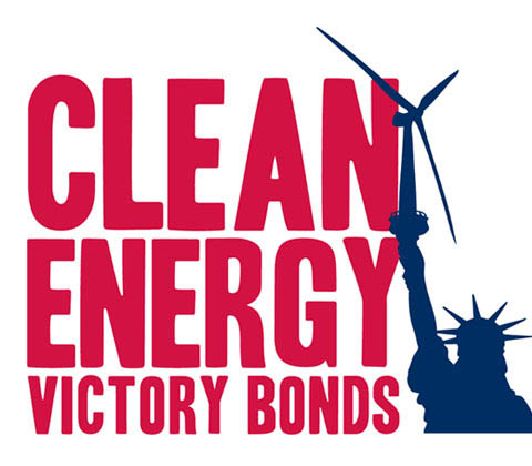 Clean Energy Victory Bonds logo