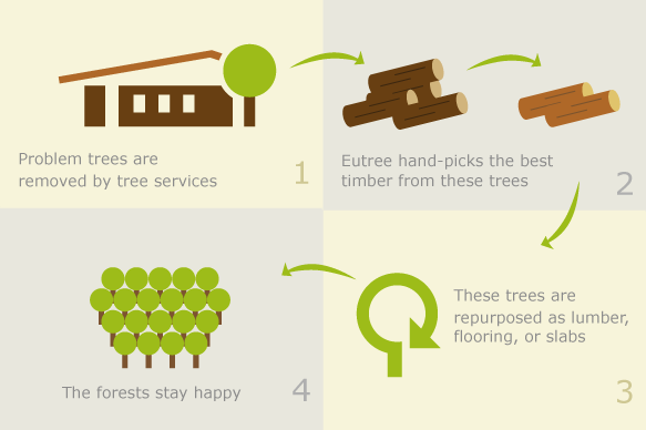 Eutree Forest Free approach and sourcing model