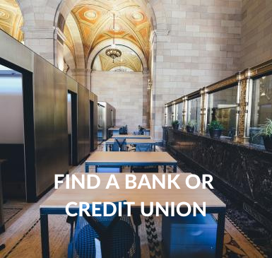 bank or credit union