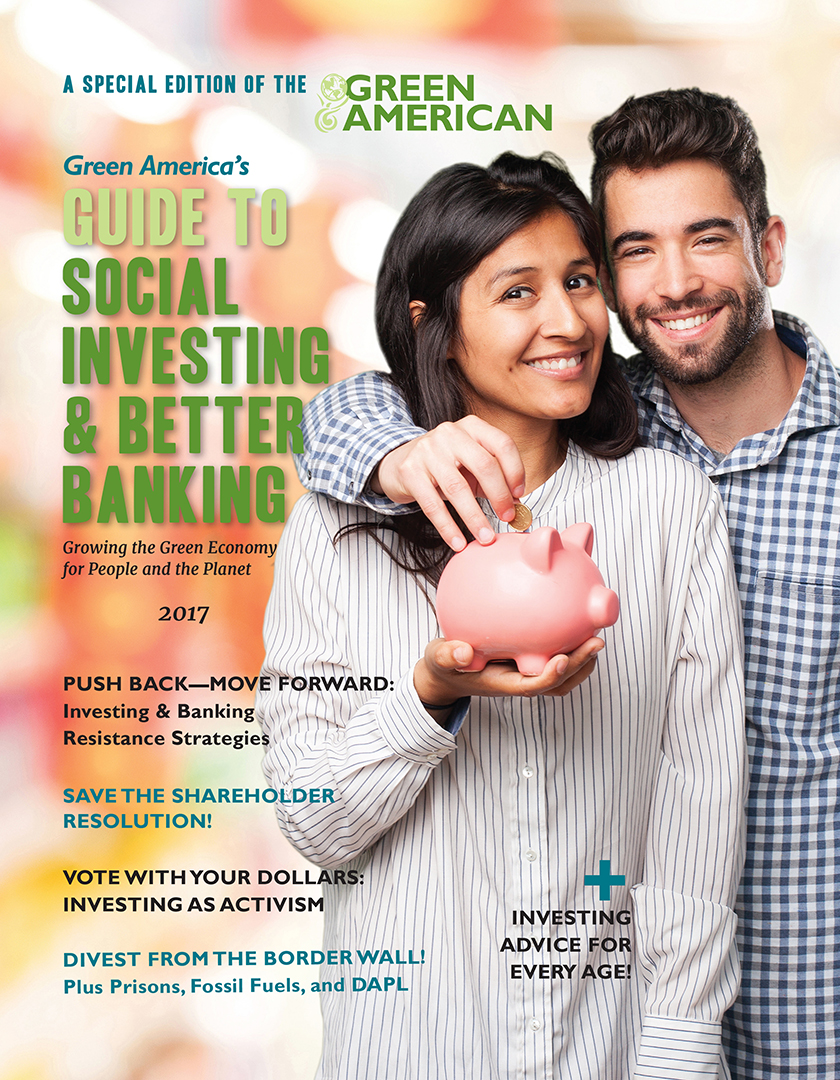 Guide to Social Investing and Better Banking cover