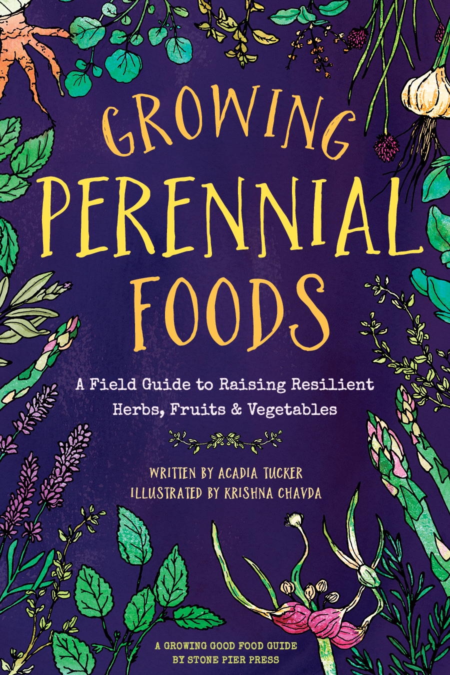book cover: growing perennial foods