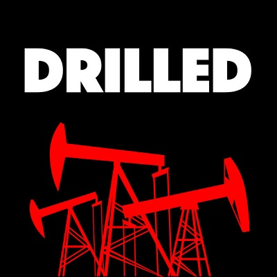 Drilled logo