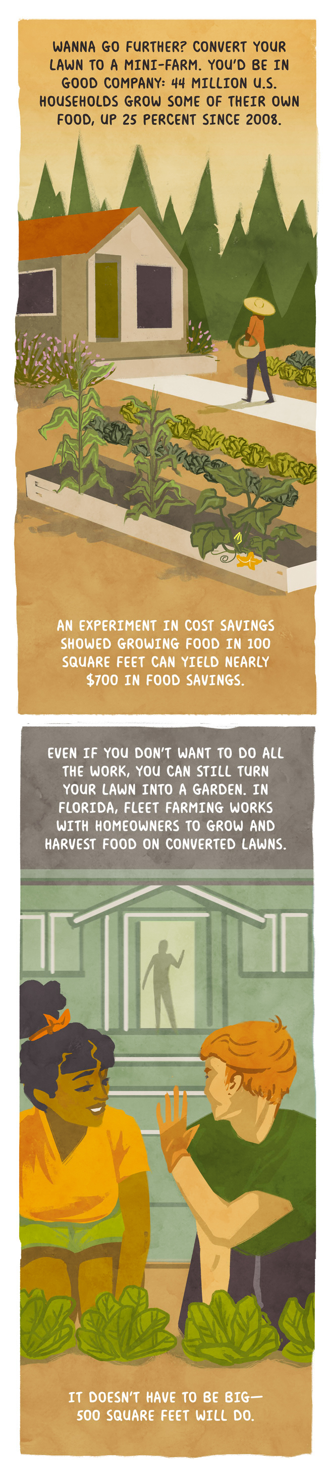 44 million US households grow some of their own food.