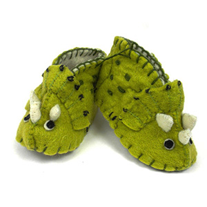 triceratops booties
