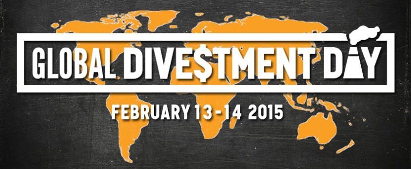 Global Divestment Day Feb. 13-14 from 350.org