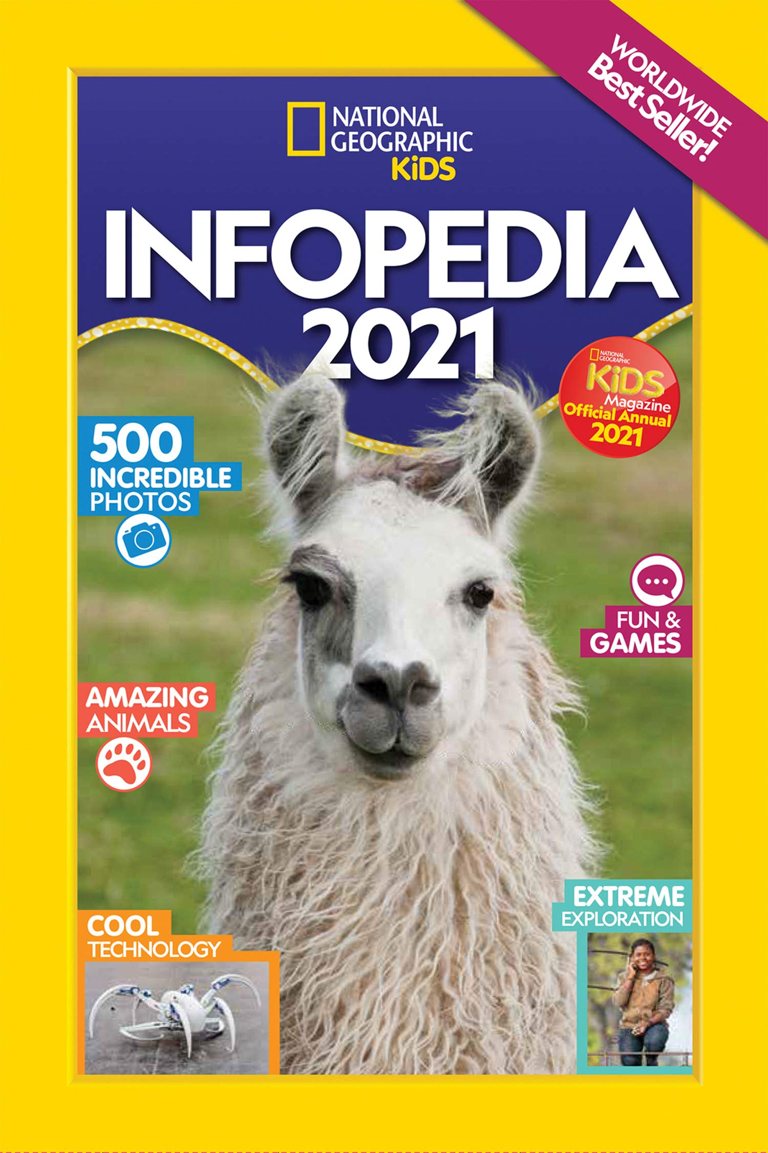 The 2021National Geographic Kids' Infopedia