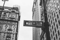 Wall Street sign by Chris Li