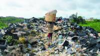 Land waste, plastic, e-waste, toxic
