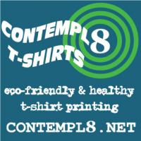 Ecofriendly t-shirt printing, healthy shirt printing, custom shirt, your design on shirts, etc.