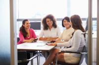 investing in women, women meeting