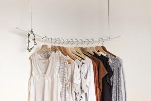 Rack of clothing