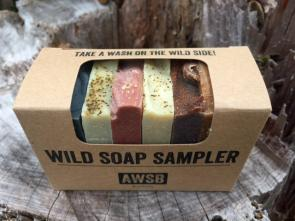 Natural Organic Wild Soap Sampler by A Wild Soap Bar