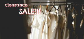 Clearance sale on organic and natural clothing