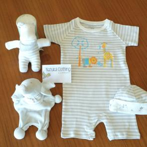 Organic cotton clothing for children and baby. Natural Fair Trade clothing for kids.