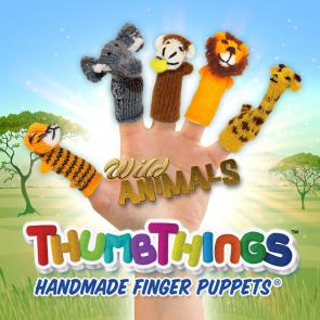 Wild Animal Finger Puppets