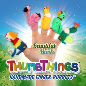 Beautiful Birds Finger Puppets