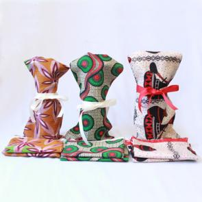 Enkiteng bag - cloth gift wrapping bag made of Kitenge