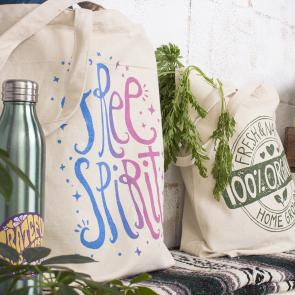 Organic Tote Bags & Pouches