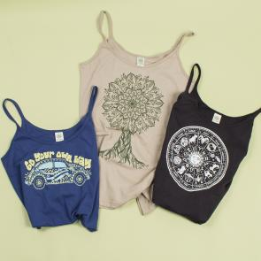 Organic Made in the USA Tees & Tanks