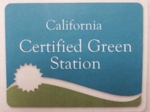 Certified Green by California Dept of Toxic Substances Control