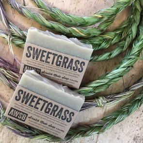 Sweetgrass Soap by A Wild Soap Bar