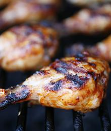 Grilled Heritage Chicken Drumsticks