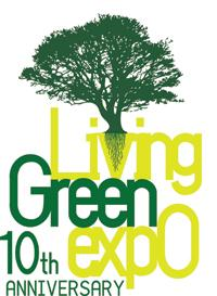 Living Green expo shirt printing