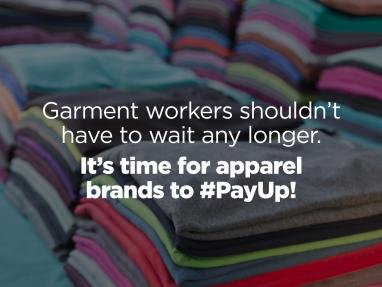 It's Time for Apparel Brands to #PayUp