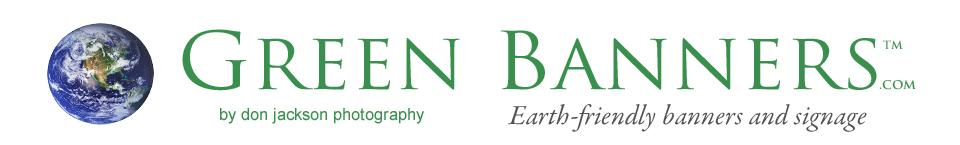 Don Jackson Photography / Green Banners logo