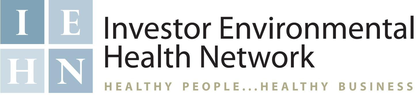 INVESTOR ENVIRONMENTAL HEALTH NETWORK logo