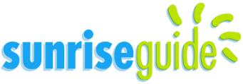 The SunriseGuide logo