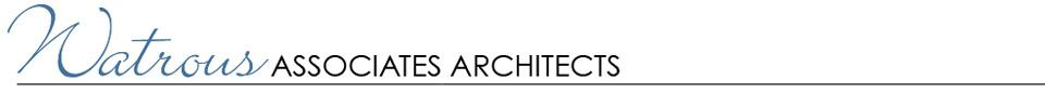 Watrous Associates Architects logo