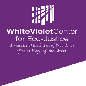 White Violet Center for Eco-Justice logo