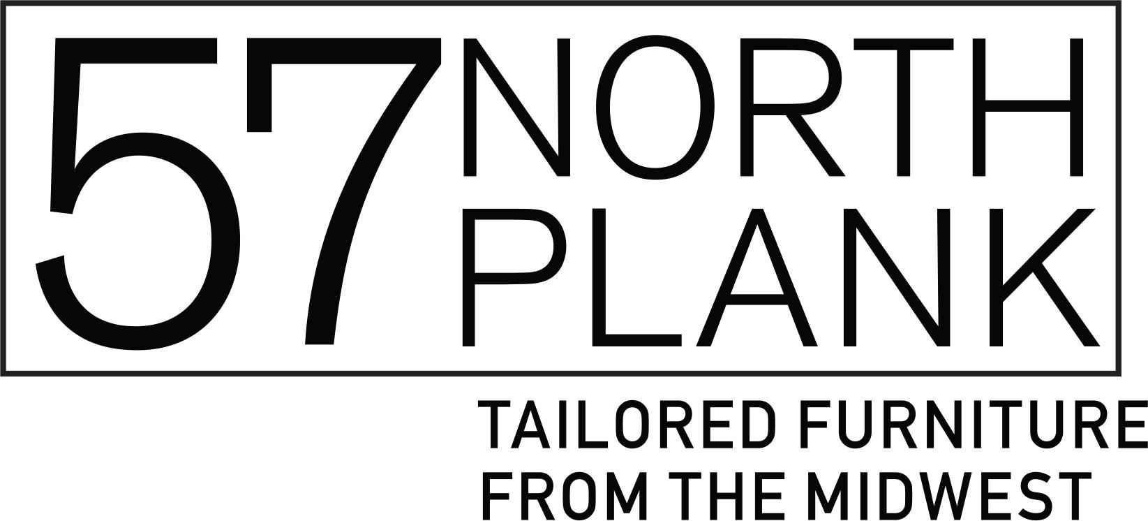 Logo for 57NorthPlank  Modern Tailored Furniture