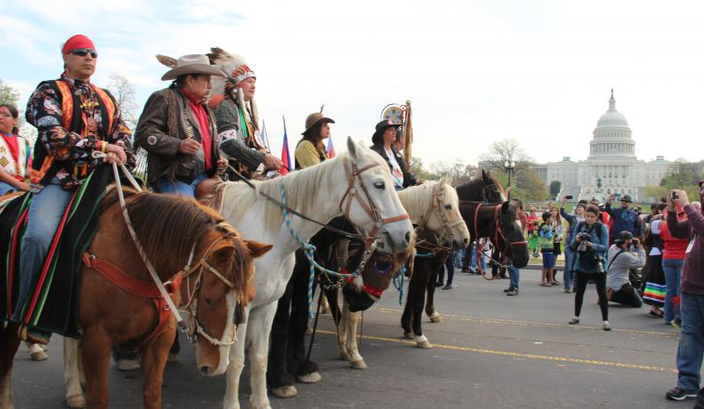 Cowboy and Indian Alliance protest KXL pipeline