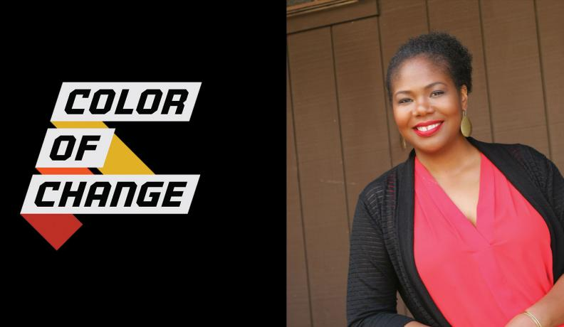Brandi Collins and color of change logo