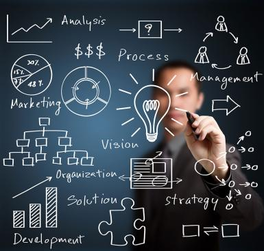 Building a business strategy | Credit: Business Consulting Agency