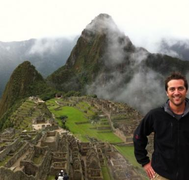 founder Ryan Florio in Peru
