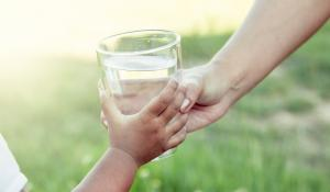 Glass of water via istock