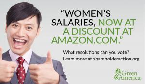 vote on women's salaries at Amazon.com