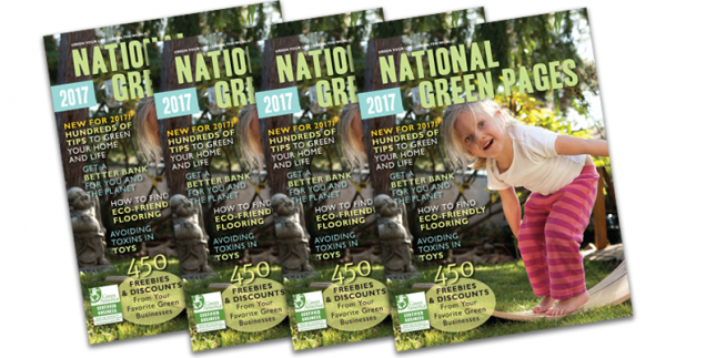 Copies of the 2017 National Green Pages