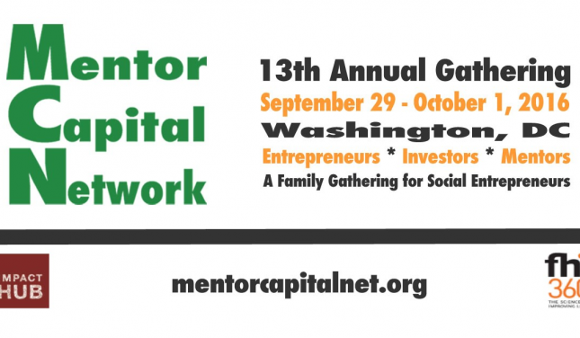 Mentor Capital Network 13th Annual Gathering banner