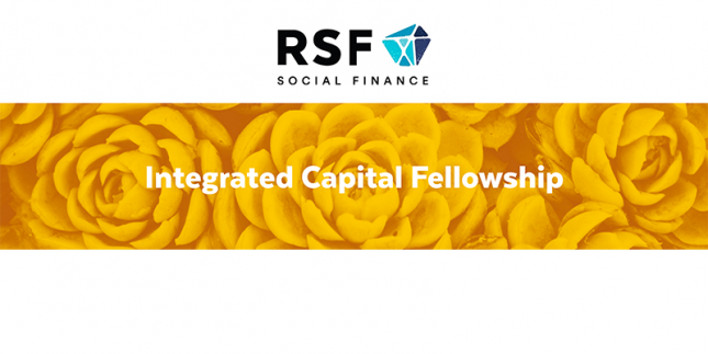 RSF Social Finance: Integrated Capital Fellowship
