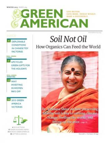 Soil not oil how organics can feed the world green america for Soil not oil