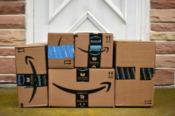 Amazon boxes by Julie Clopper