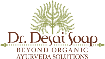Experience the benefits of Dr. Desai's All Natural Ayurvedic Turmeric Herbal Goat's Milk Soap!